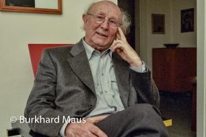 Johannes Cladders, © Burkhard Maus