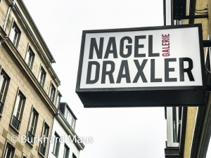 Galerie Nagel Draxler, © Burkhard Maus