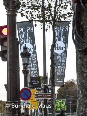 La Foire Internationale d'Art Contemporain (FIAC) 2016, Paris, © Burkhard Maus