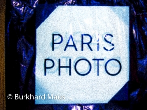 Paris Photo, Burkhard Maus