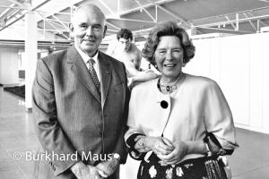 Irene und Peter Ludwig, Burkhard Maus