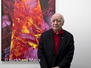 Karl Otto Götz, © Burkhard Maus