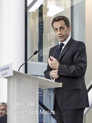Nicolas Sarkozy, © Burkhard Maus