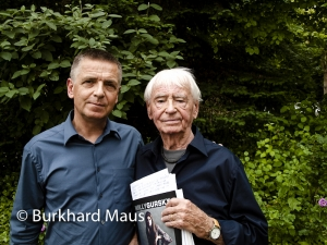 Andreas Gursky, Willy Gursky, Burkhard Maus