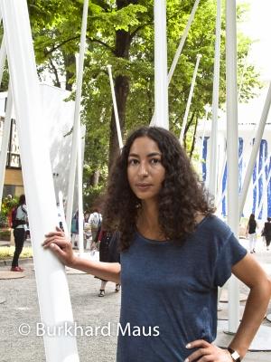 Latifa Echakch, © Burkhard Maus