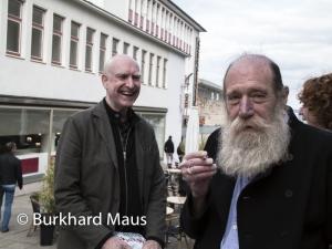 Frank Mandersloot, Larence Weiner
