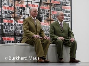 Gilbert & George, © Burkhard Maus