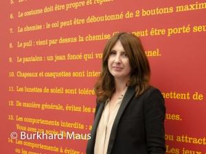 Stéphanie Moisdon, © Burkhard Maus