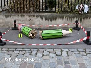 Charlie Hebdo, © Burkhard Maus