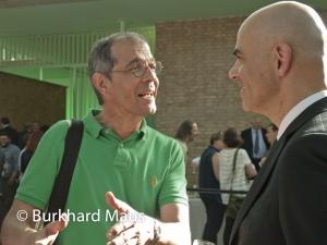 Michael von Graffenried, Alain Berset, Burkhard Maus
