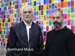 Ugo Rondonone & John Giorno, © Burkhard Maus