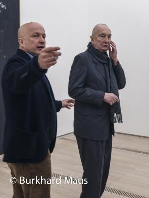 Sam Keller, Georg Baselitz, © Burkhard Maus