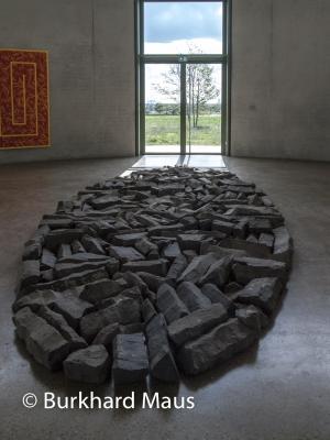 Richard Long, Skulpturenhalle