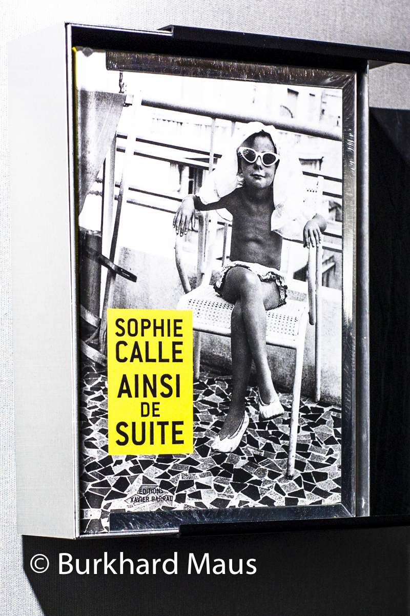 Sophie Calle, Èditions Xavier Barral, Grand Palais, Paris