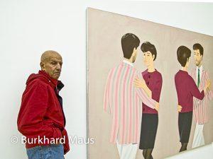 Alex Katz, Portrait im Museum Kurhaus Kleve