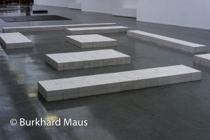 Carl Andre, Musée d'Art moderne de la Ville de Paris, Paris