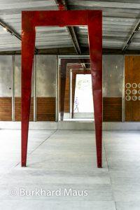 Jean Prouvé (détail) - Jardin des Tuileries / La Foire Internationale d'Art Contemporain