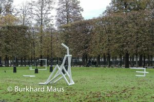 Jacques Julien - Jardin des Tuileries / La Foire Internationale d'Art Contemporain