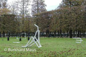 Jacques Julien - Jardin des Tuileries / La Foire Internationale d'Art Contemporain