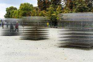 Eric Baudart (détail) - Jardin des Tuileries / La Foire Internationale d'Art Contemporain