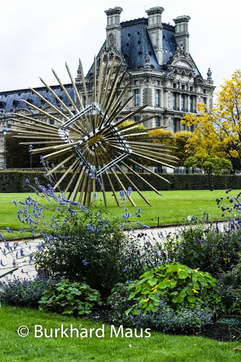 Foire internationale d 39 art contemporain fiac 2016 hors les murs jardin des tuileries et - Jardin des tuileries foire ...