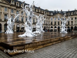 Ugo Rondinone (détail) - (détail) - Place Vendôme/ La Foire Internationale d'Art Contemporain