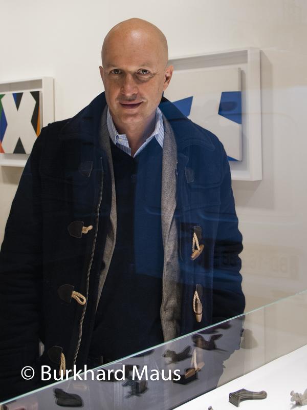 Sam Keller, Galerie Cahiers d'Art, Paris (Portrait)