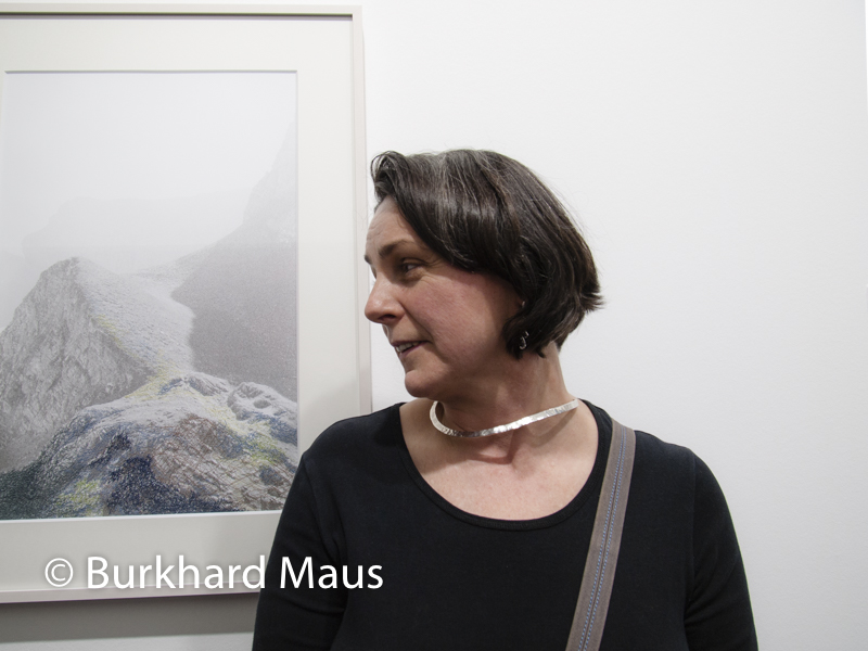 Iris Hutegger, Paris Photo Galerie Esther Woerdehoff, Grand Palais, Paris (Portrait)