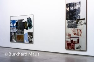 "Robert Rauschenberg, ""Salvage"",(détail), Galerie Thaddaeus Ropac, Paris"