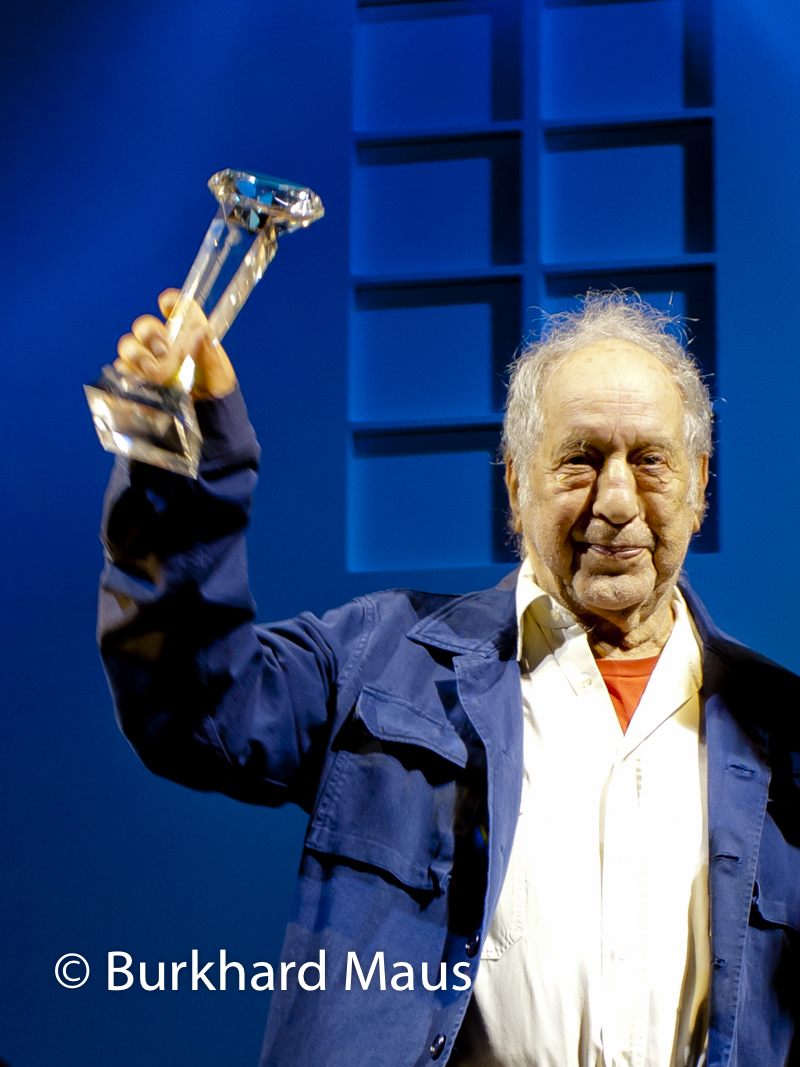 Robert Frank, SWISS PRESS PHOTO LIFETIME ACHIEVEMENT AWARD 2012, Bern