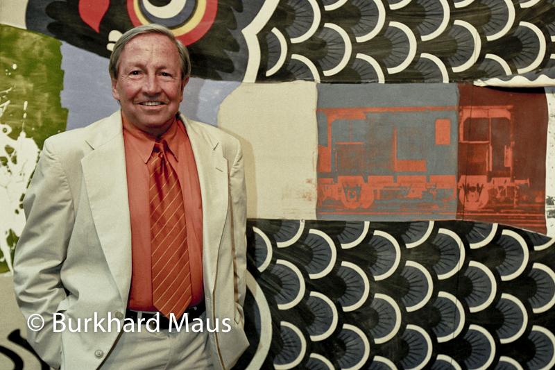 """Robert Rauschenberg """"Doubleluck"""" (détail), (Portrait) Museum Ludwig"""