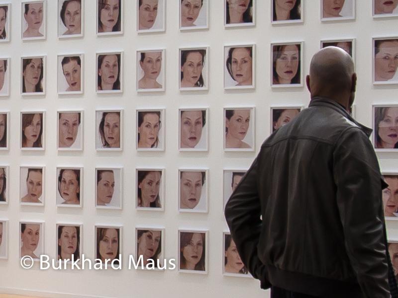 "Roni Horn ""Portrait of an Image - with Isabelle Huppert"" (détail), Galerie Hauser & Wirth, Foire internationale d'art contemporain / FIAC 2014"