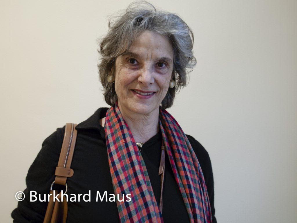 Jacqueline Burckhardt, (Potrait)