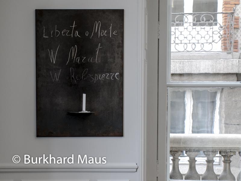 Jannis Kounellis, Monnaie de Paris