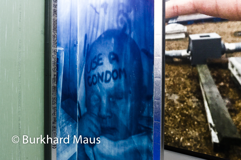 "Thomas Mailaender, ""Cyanotypes"" (détail) / The Fun Archive, NRW-FORUM"