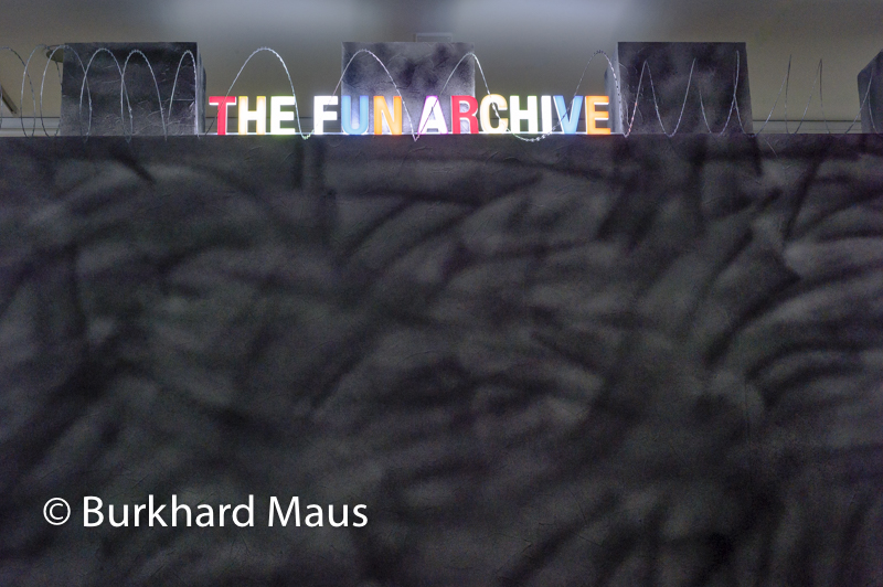 "Thomas Mailaender, ""The Fun Archive"" (detail), NRW-FORUM"