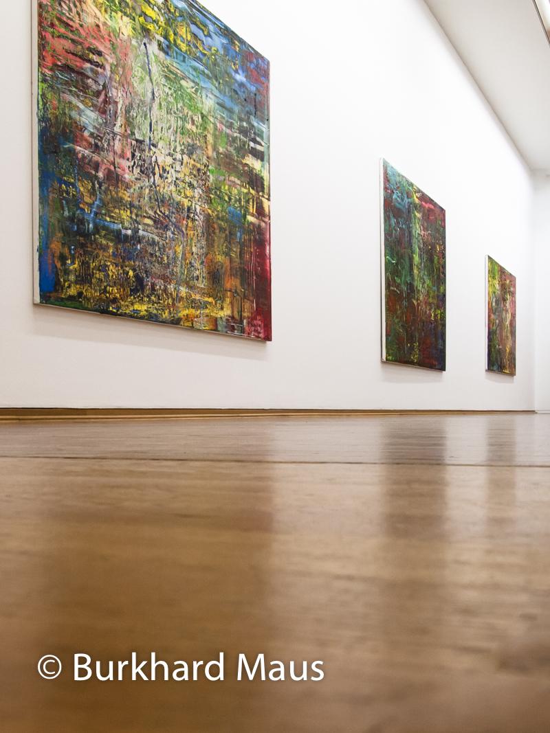 """Gerhard Richter, """"946-1"""" (détail) (l.), """"946-2"""" (m.), """"946-3"""" (r.), Museum Ludwig"""