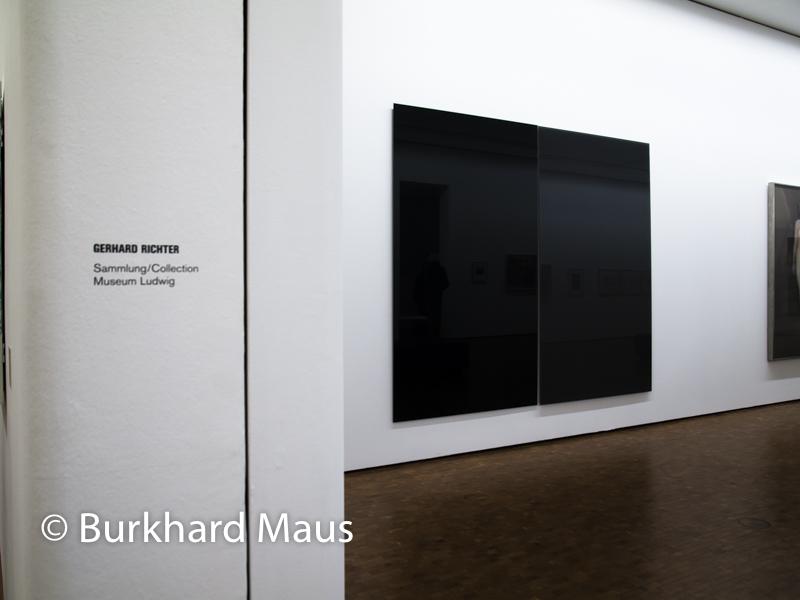 "Gerhard Richter, ""Zwei Grau"", Museum Ludwig"