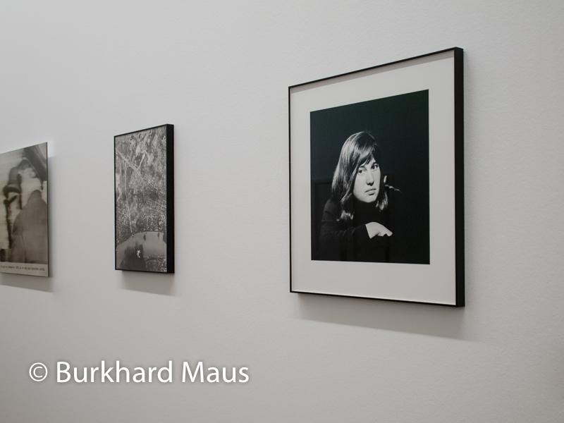 """Gerhard Richter, (v.l.n.r) """"Herr Heyde"""" (détail), """"Bridge 14 FEB 45 (II)"""", Ulrike Meinhof"""", Museum Ludwig"""