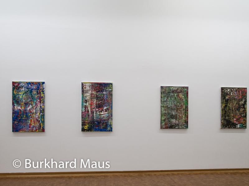 """Gerhard Richter, (v.l.n.r.) """"945-2"""", """"945-1"""", """"945-4"""", """"945-3"""", Museum Ludwig"""