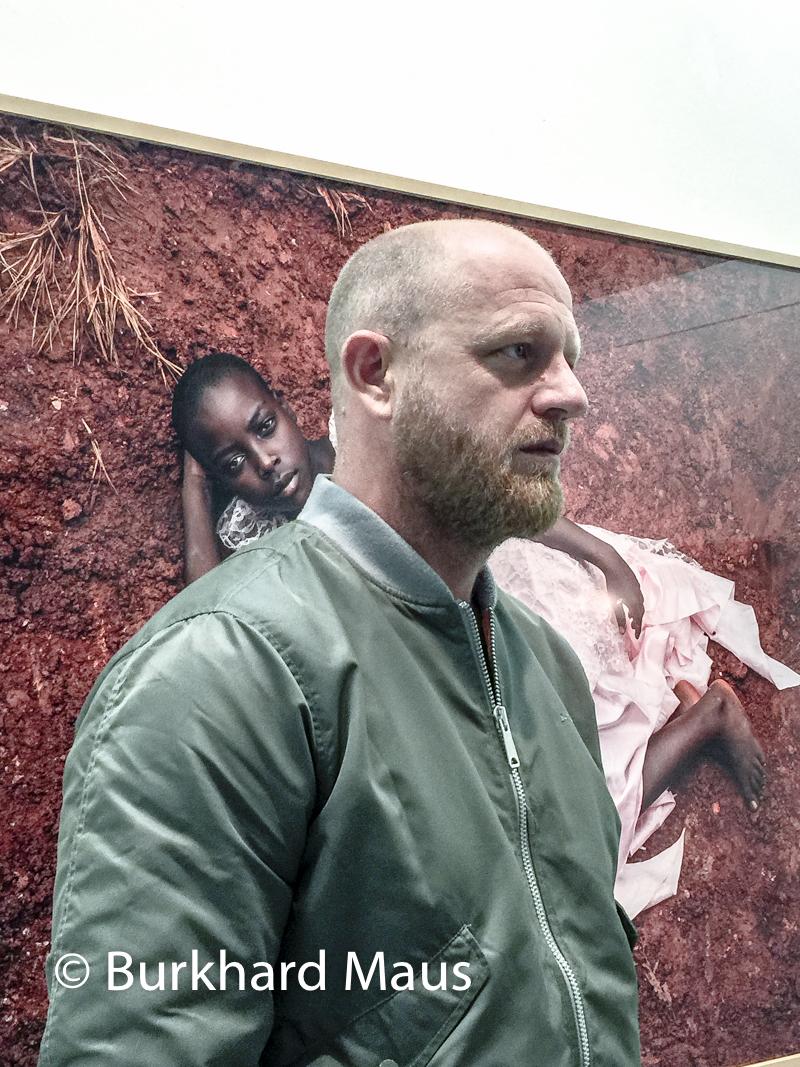 """Pieter Hugo, """"Portrait #12"""" (détail), Galerie Priska Pasquer (Portrait)"""