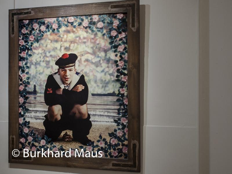 """Pierre et Gilles, """"Le Petit Matelot"""" - Modèle Wilfried Dufour, Musée d'Ixelles, Bruxelles"""