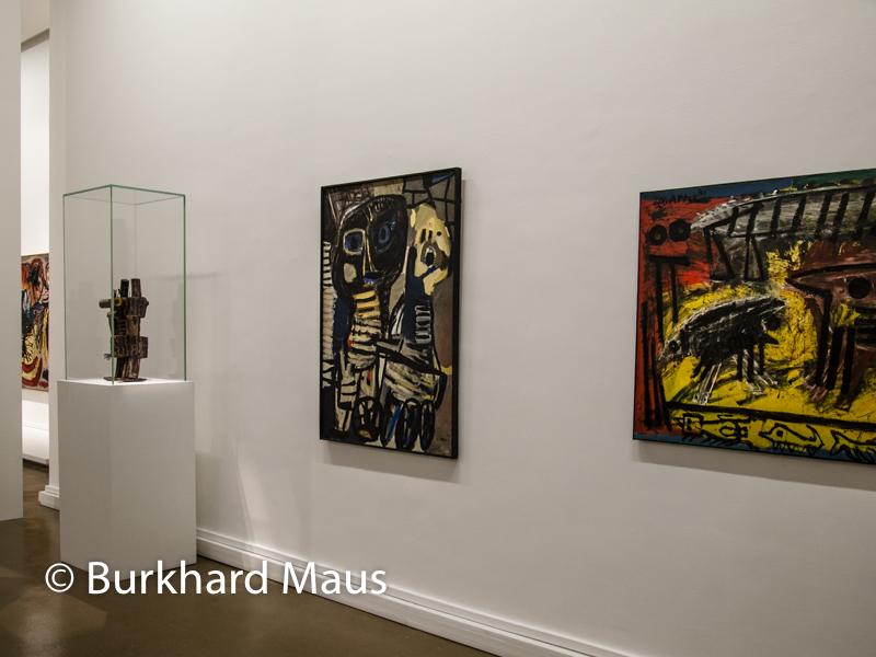 """Karel Appel, """"L'Art EST UNE FÊTE"""", Musée d'Art moderne de La Ville de Paris, Paris"""