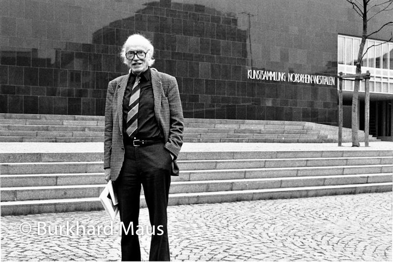 Werner Schmalenbach, (Portrait), Kunstsammlung Nordrhein-Westfalen