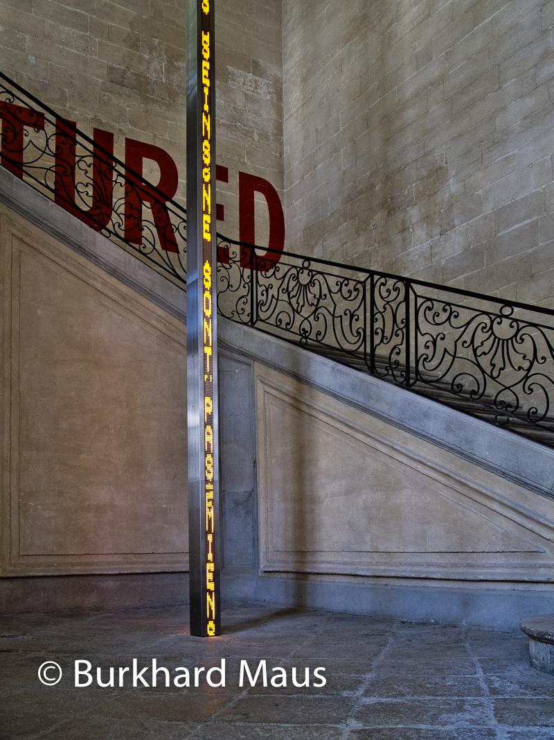Jenny Holzer, (détail), La Collection Lambert, Avignon