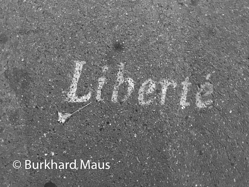 Liberté, Paris