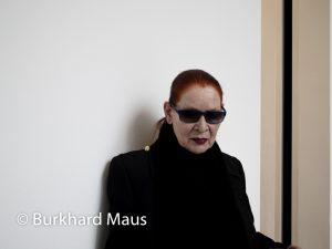 Katharina Sieverding, (Portrait), Bundeskunsthalle