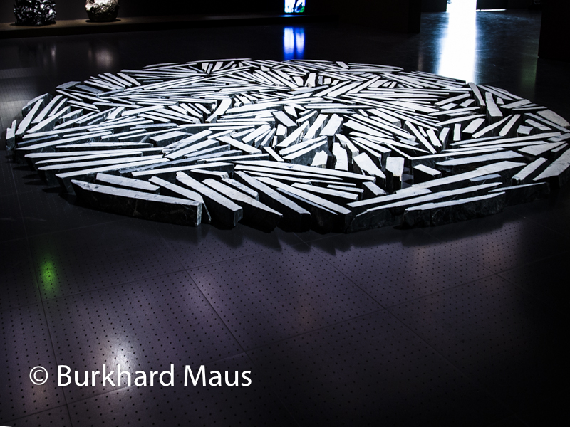 "Richard Long ""Cornwall Slate Circle"", Centre Pompidou-Metz"