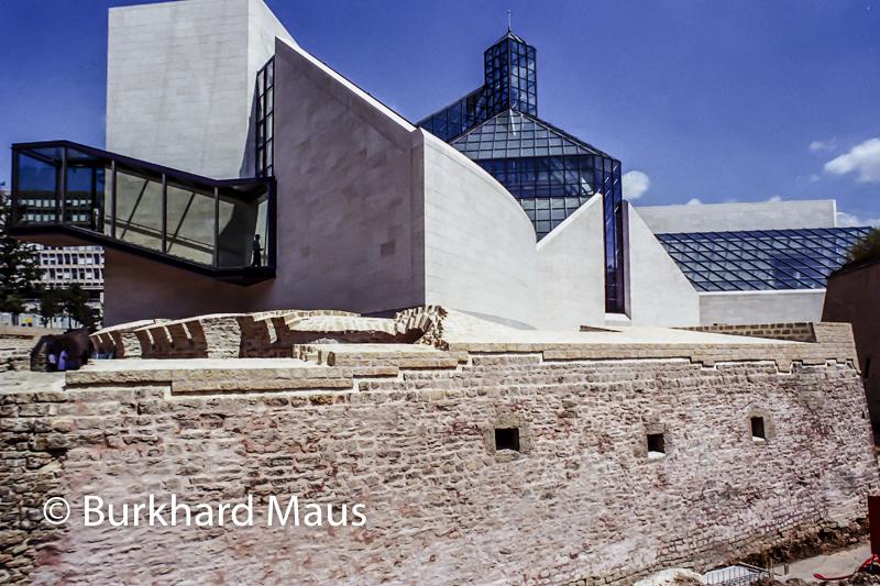 Musée d'Art Moderne Grand-Duc Jean (MUDAM) (détail), Luxembourg