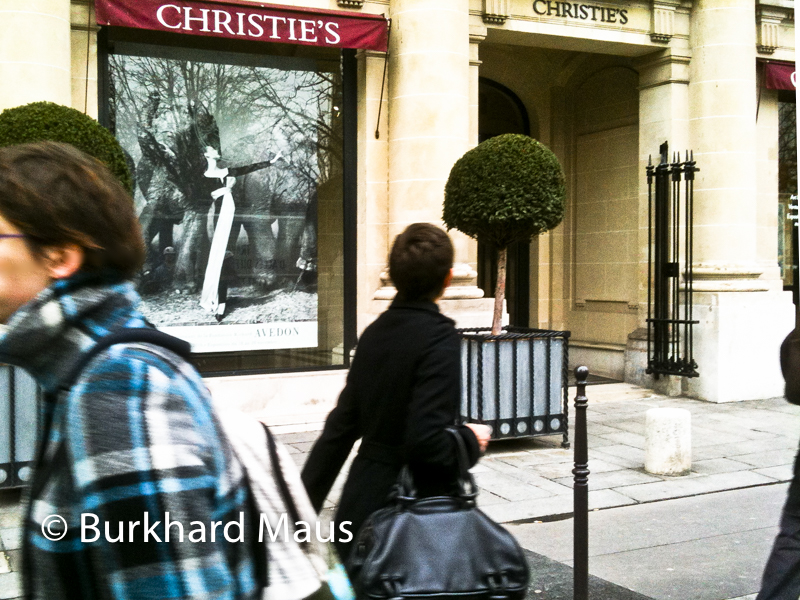 Christie's, Paris